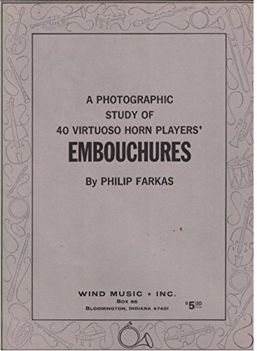 (Photographic study of horn players' embouchures)