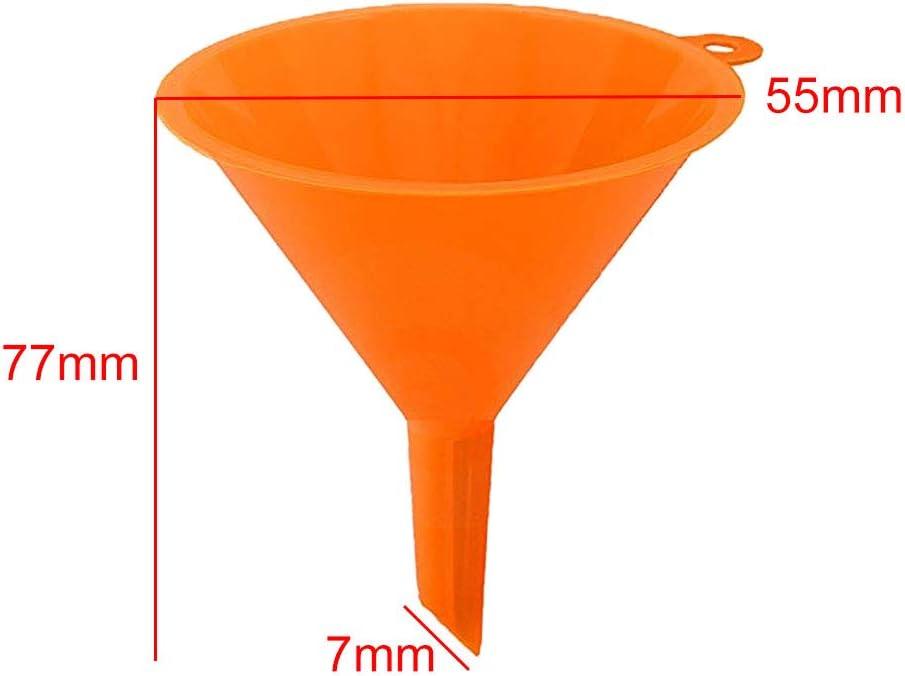 Outil de ravitaillement Facile /à Nettoyer Essence Cuisine quanjucheer Lot de 4 entonnoirs en Plastique pour Huile Carburant Voiture