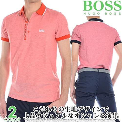 ヒューゴボス HUGO BOSS ポール 4 半袖ポロシャツ   B07Q1GDX26
