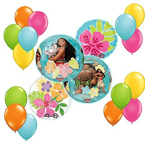 50th Birthday Party Balloon Bouquet 5ct