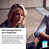 Sennheiser SC 230 USB MS II (506482) - Single-Sided Business Headset | For Skype for Business, Softphone, and PC | with HD Sound, Noise-Cancelling Microphone