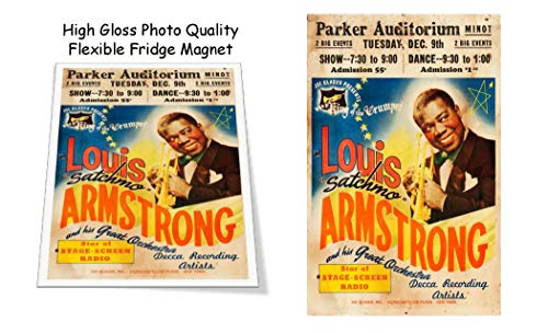Louis Armstrong Concert Poster 3