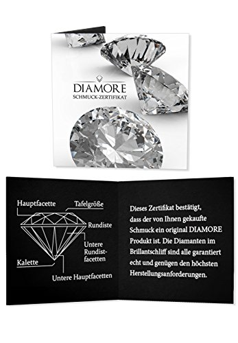 DIAMORE - Créoles - Argent 925 - Diamant 0.26 cts - 0307980115