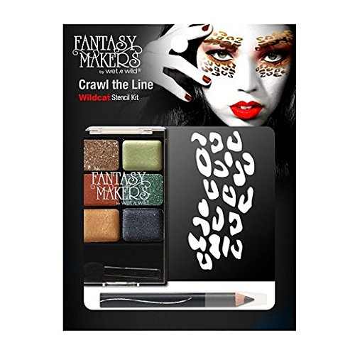Fancy Face Paint Color Halloween Wet N Wild Crawl Line Crafty Kitten Makeup (Crafty Halloween Costumes For Adults)