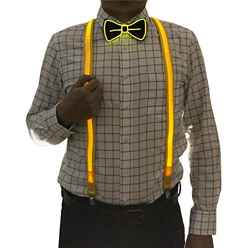 Light Up Ties - 2 Pcs/Set, Good Quality Light Up
