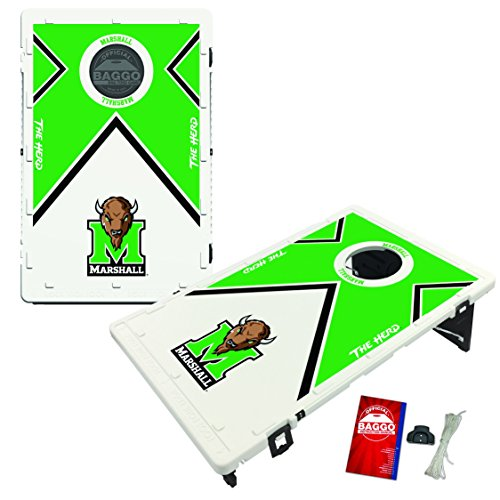 Marshall Thundering Herd Baggo Bean Bag Toss Cornhole Game Vintage Design