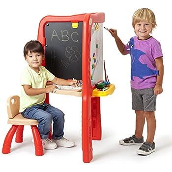 Amazon Com Crayola Super Duper Art Studio Easel Toys Amp Games