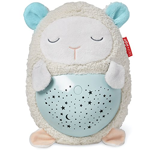 Skip Hop Moonlight-and-Melodies Hug Me Projection Nightime Soother, Lamb (Projection Mobile Baby)