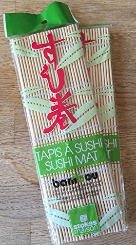 Sushi Roll Bamboo Mat (10.6 Inch Long)