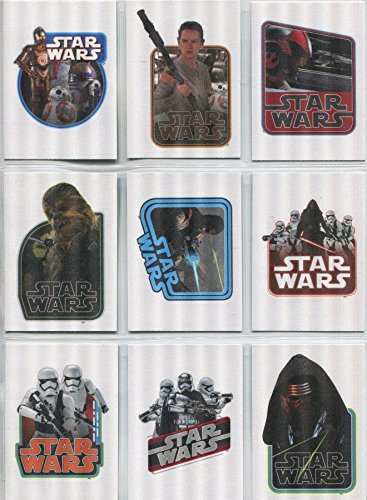 Topps Star Wars JTTFA Complete Cloth Stickers Chase Card ...