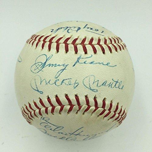 Yankees Team Signed Baseball - 7