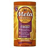 Metamucil Smooth Texture Orange Sugar Psyllium Fiber Powder 72 Doses- Packaging May Vary
