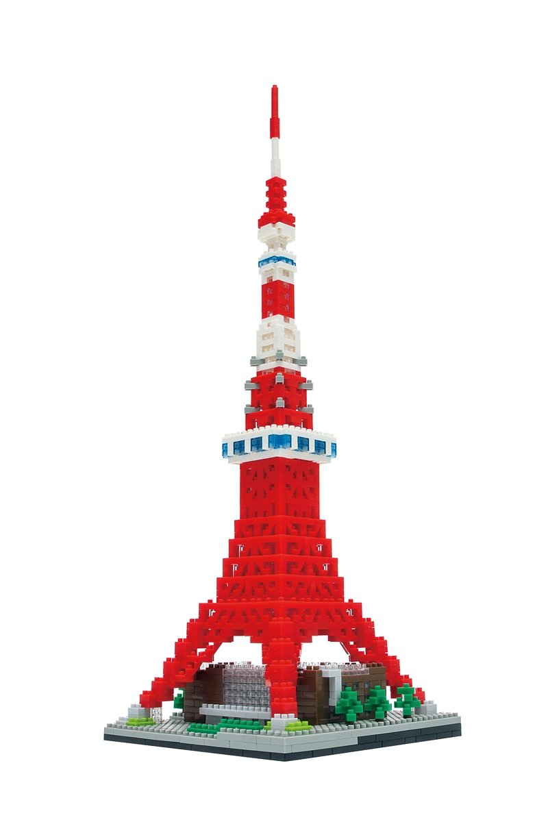 Nanoblock Tokyo Tower Deluxe Edition Building Kit