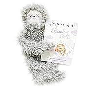 Slumberkins - Slumber Sloth - Cuddly Creatures with Intention (Snuggler Bundle, Ultra Plush - Ashe)