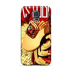Samsung Galaxy S5 Wwf14593MoaU Unique Design High Resolution Red Hot Chili Peppers Skin Shock Absorption Hard Phone Cover -DannyLCHEUNG