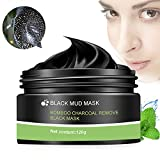 Image of Peel Off Mask, Blackhead Peel Off Mask, Black Mask, Blackhead Remover Mask, Deep Cleaning Mask Tearing Style Purifying Mask, Active Natural Charcoal Mask Oil-control Anti Pore Acne Treatment (120g)