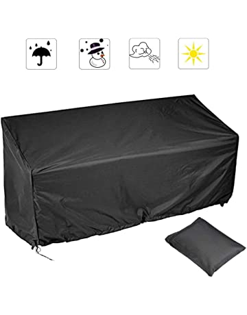 Strange Amazon Com Bench Covers Patio Lawn Garden Caraccident5 Cool Chair Designs And Ideas Caraccident5Info