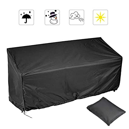 Awe Inspiring Amazon Com 2 3 4 Seater Outdoor Bench Cover Polyester Lamtechconsult Wood Chair Design Ideas Lamtechconsultcom