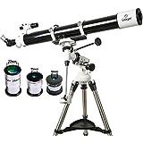 Gskyer Telescope, EQ901000 Astronomy Telescope, German Technology Refractor Telescope