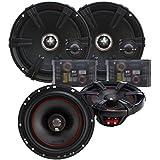 MB Quart Z-Line Series 6.5 Component Set and X-line 6.5 Coaxial speaker bundle