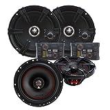 MB Quart Z-Line Series 6.5' Component Set and X-line 6.5' Coaxial speaker bundle