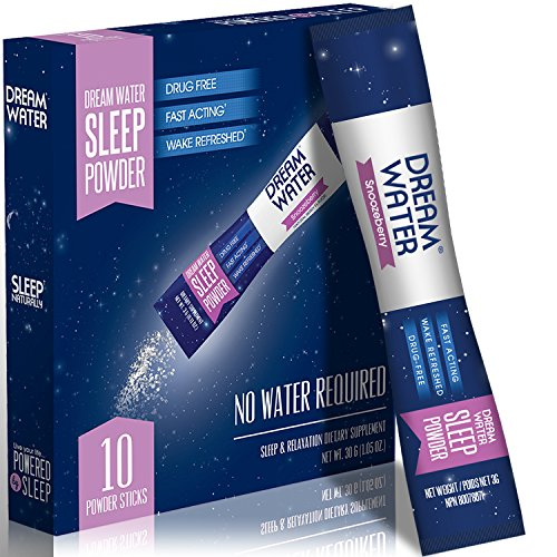 Dream Water Natural Melatonin Snoozeberry product image