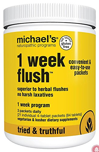 Michael's Naturopathic Progams 1 Week Flush Supplements, ...