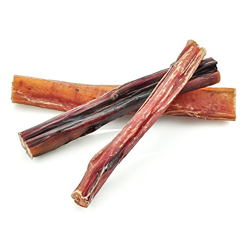 6 inch odor free bully sticks by best bully sticks 1 pound import it all. Black Bedroom Furniture Sets. Home Design Ideas