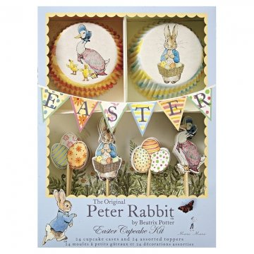 Peter Rabbit Easter Cupcake -