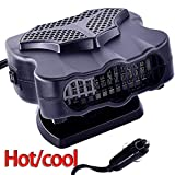 Car Heater Fan 12V, 30S Fast Heating Portable Car Auto Vehicle...