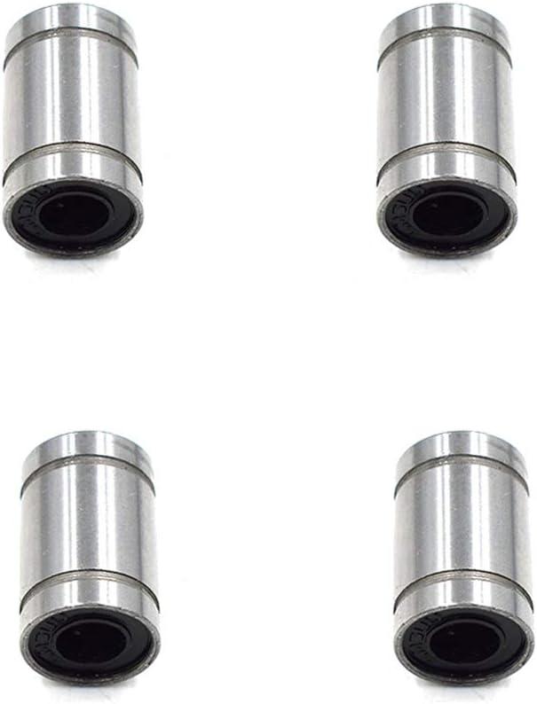 6mmx12mmx19mm-4pcs HONJIE Linear Ball Bearings Bushing for 3D Printer CNC Parts