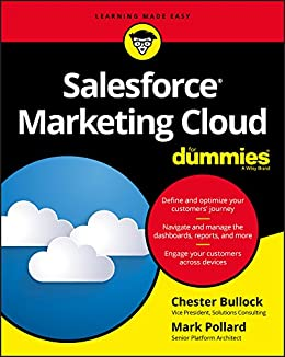 salesforce marketing cloud for dummies 1 chester bullock mark