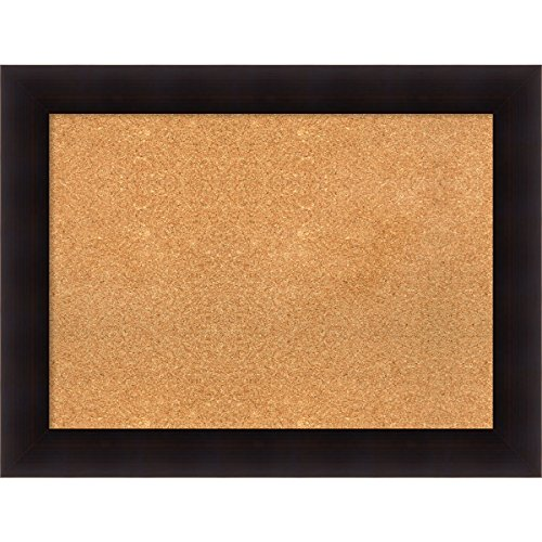 Amanti Art DSW3994465 Framed Cork Board, 34'' x 26'', Portico Espresso by Amanti Art