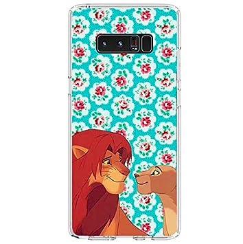 Todo Fundas para Samsung, El Rey Leon Simba Nala Timón Pumba Scar Mufasa Hakuna Matata Disney Selva Animales Niños Televisión Dibujos Carcasa Gel ...