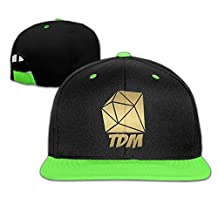 Golden Diamond DanTDM Boys & Girls Adjustable Hip-hop Baseball Cap RoyalBlue