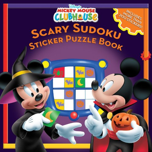 Mickey Mouse Clubhouse Scary Sudoku Sticker Puzzles Book PDF