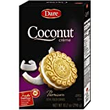 Dare Foods Coconut Creme Filled Cookie, 10.2 Ounce - 12 per case.