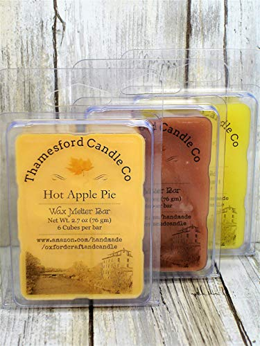 Country Kitchen Collection 3 Pack Scented Wax Melts. Top Quality, Long Lasting. Your choice of any 3 : Hot Apple Pie, Sugar Cookie, Gingersnap Cookie, Cinnamon Bun, Chocolate Cake, Lemon Icebox Cake. ()