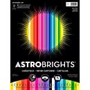 "Astrobrights Colored Cardstock, 8.5"" x 11"", 65 lb/ 176 gsm,  25-Color Spectrum, 75 Sheets (80944-01)"