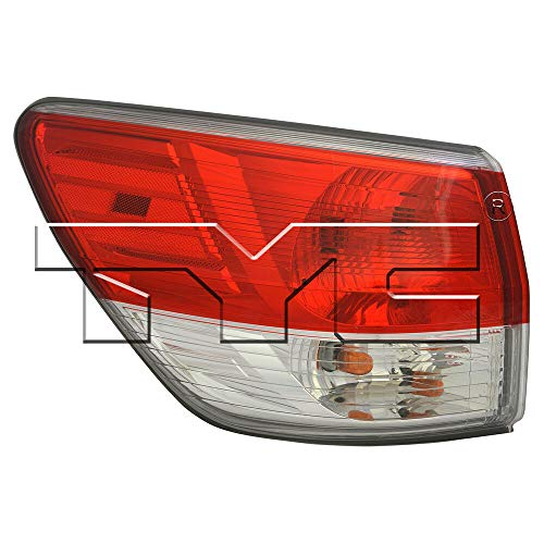 TYC 11-6568-00-1 Compatible with NISSAN Pathfinder Replacement Tail Lamp