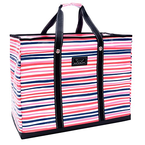 SCOUT 4 Boys Bag, Extra Large, Durable All Purpose Foldable Utility Tote, Folds Flat, Water Resistant, Zips Closed, Pinky Swear by SCOUT