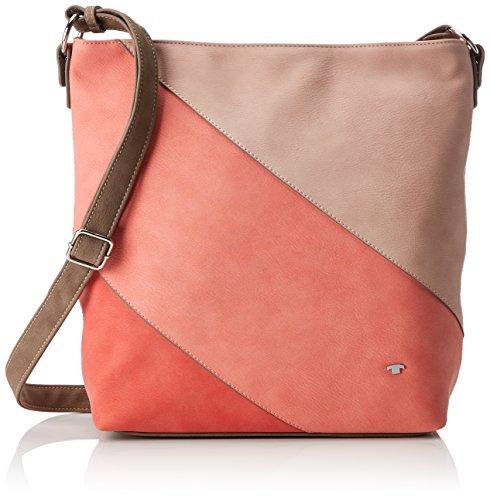 Tom Tailor Acc Carina - Shoppers y bolsos de hombro Mujer Rosa (Coralle)
