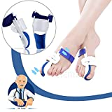 Bunion Correction Pads, Foot Pain Relief Splint, Big Toe Straightener Protector, Overlapping Toes Orthodontic Separators, Plantar Fasciitis Inserts Alignment Corrector - Hallux Valgus, Hammer Toe