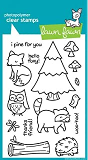 Lawn Fawn Clear Stamps 10cm x 15cm Critters On The Savanna
