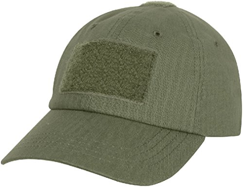 Tactical Rip Stop Adjustable Operator Cap Military Patch Baseball Hat (Unit Convertible Bench)