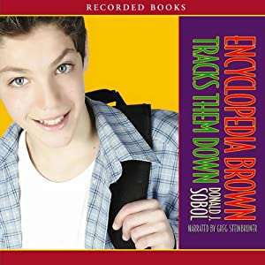Encyclopedia Brown Tracks Them Down Audiobook
