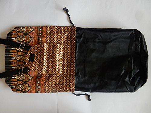 Ariyas Para Thaishop Mochila Marrón Mujer Bolso rwCrx8qBt