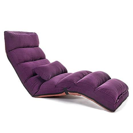 YLCJ Lazy Sofa Chair Single Window Bedroom Lunch Break ...