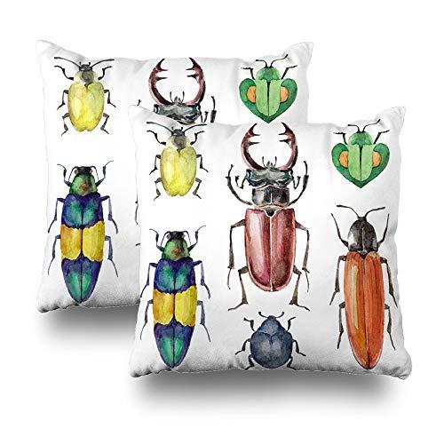 (Soopat Decorative Throw Pillow Cover Square Cushion 18