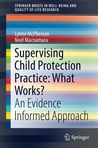 Supervising Child Protection Practice: What Works?: An Evidence Informed Approach (SpringerBriefs in Well-Being and Qual